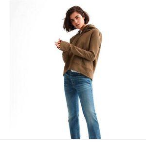 NILI LOTAN Janie Hoodie Distressed  Sweatshirt